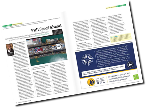 Supply Chain World Magazine recently featured Dry Dock Logistics